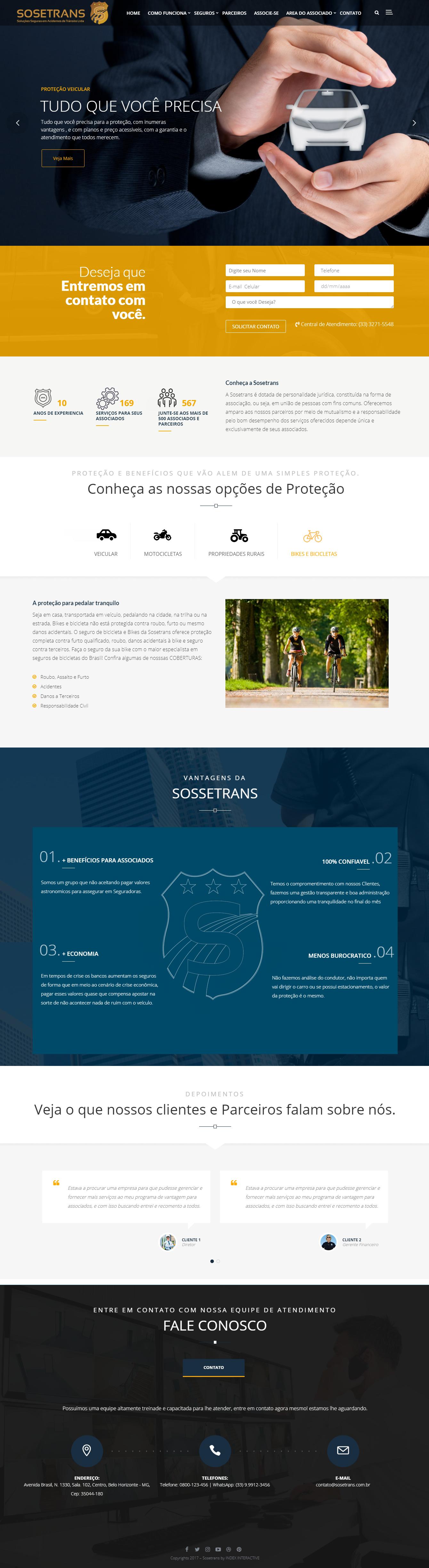 criacao de site para associacoes